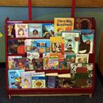 The Red Bookshelf